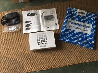 TECHNICS SL-XP350 Portable CD Walkman Discman - Boxed,Instructions Faulty- Skips