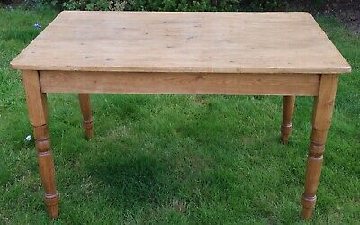 Antique Pine Kitchen Table, Great Condition, Lovely Colour.