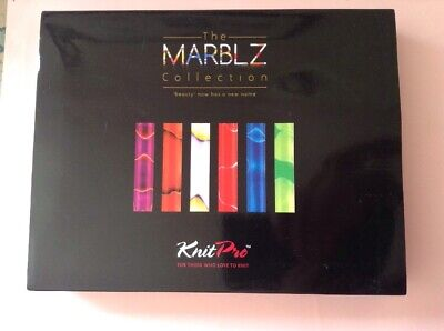 KnitPro Marblz Collection Interchangeable Knitting Needle Set *Incomplete*