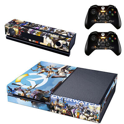 Overwatch Xbox ONE Skin Sticker Vinyl Decal for Console & 2 Controllers NEW