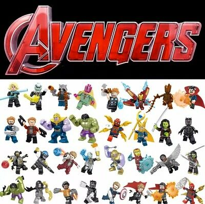 NEW 16 PCS Marvel Super Heroes Avengers Infinity War mini Figure Thanos LEGO SET