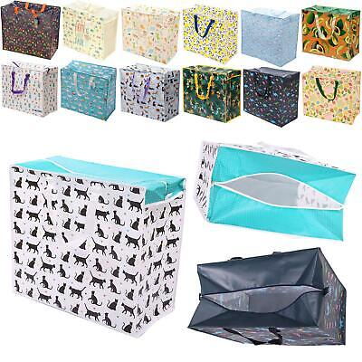 Large Strong Durable Laundry Storage Bag Bedroom Organiser Travel Carry Case