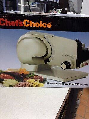 Chef's Choice Premium Electric Food Slicer Model 615