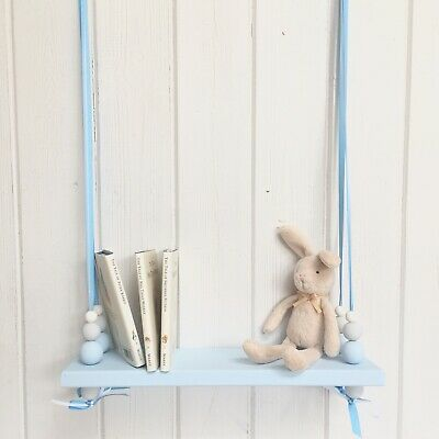 Wooden Swing Shelf | Nursery Decor