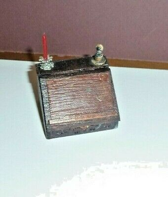 Dolls House Miniatures 1/12Th Hand Made Victorian Writing Slope