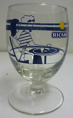 Verre Ricard Ballon 17 Cl , Collection Ete 2009  , Trait Dose , Vr154 *