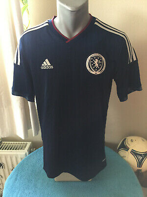 SCOTLAND Retro 2014/15 Home Football Shirt Soccer Jersey Trikot Maillot Camiseta