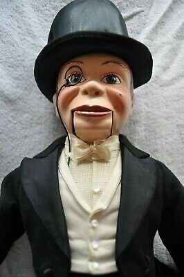 vintage toys, EffanBee Play Products, Charlie McCarthy