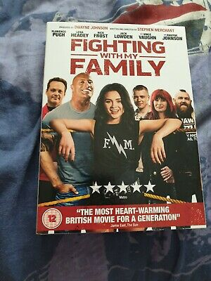 Fighting With My Family  DVD Region 2