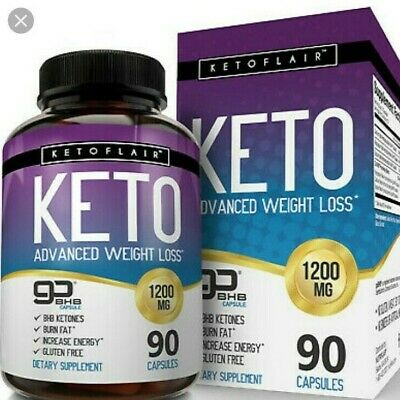 14 pillsTrial pack Keto Diet Pill Weight loss supplement fat burn carb pure