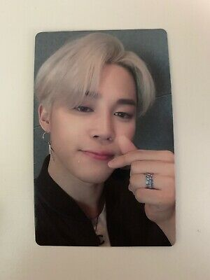 "BTS Jimin ""Lights/Boy With Luv"" Japan Official Fanclub ARMY Limited Photocard"