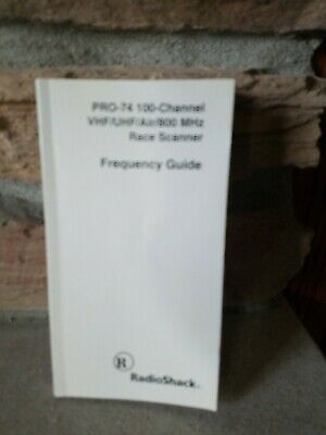 1998 RADIO SHACK Police Call Frequency Guide Codes Maps