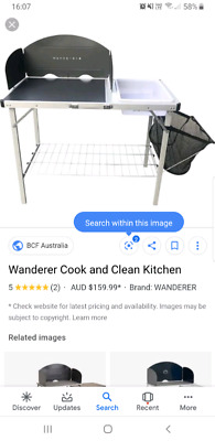 Wanderer cook and clean kitchen