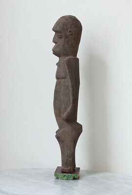 Fine old Lobi figure from well-known German collection, larger piece!