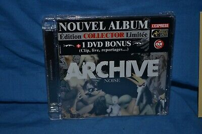 Archive 'Noise' CD/DVD. French Hardcore/Indie