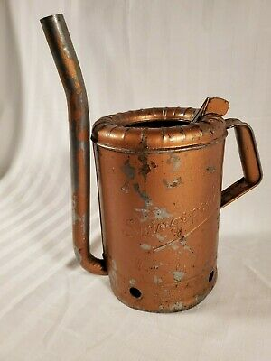 Vintage Swing Spout One Gallon MN 44 Gas Station Service Bulk Oil Filler Can