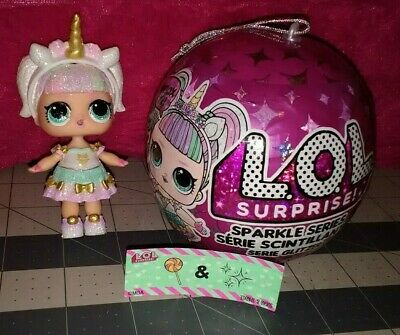 *NEW SEALED* LoL Sparkle Unicorn Doll HTF!
