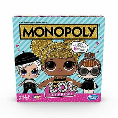 Toys-Monopoly LOL Surprise /Boardgame TOY NEW