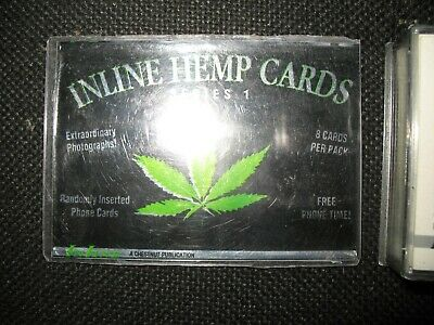 inline hemp cards series 1 collectors