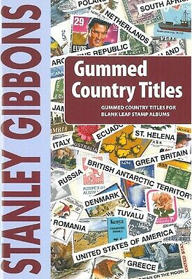 Stanley Gibbons Gummed Country Titles - Over 2.500 Titles for 690 Countries