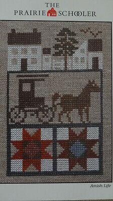 The Prairie Schooler - Amish Life Cross Stitch Chart OOP