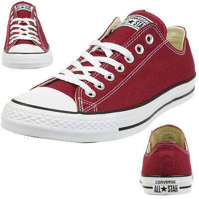 CONVERSE ALL STAR Ox Homme Baskets Mode Bordeaux EUR 54,99