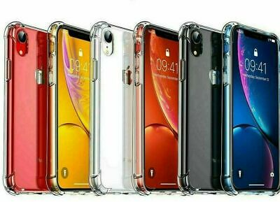 Clear Case For iPhone 6 7 8 Plus X XS Max XR Shockproof Silicone Protective SE 5