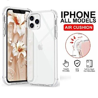 Clear Case For iPhone 6,7,8 Plus,11 Pro,XS Max,XR Shockproof Silicone Protective