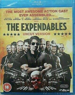 The Expendables Uncut Version  Sylvester Stallone Jason Statham Bruce Willis