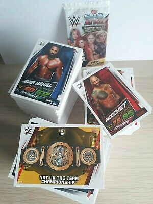 WWE Slam Attax Universe 2019 bundle of 10 cards 1-301 You choose - ALL AVAILABLE