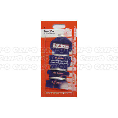 Assorted Mini Blade Fuses 4 Pieces 10A 15A 20A 30 Amp Replacement Autobar 485