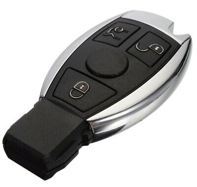 Keyless Remote Car Key Fob 3 Button For Mercedes Benz Year 2000+