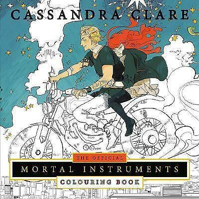 The Official Mortal Instruments Colouring Book by Cassandra Clare (Paperback,...
