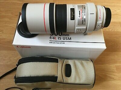 Canon EOS EF 300mm F/4.0 L IS USM Lens
