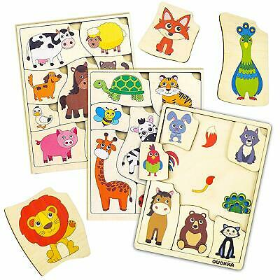 Matching Activities Toddler Puzzles Made in Europe Quokka
