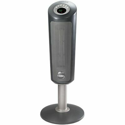 Lasko Electric Ceramic Tower Space Heater With Remote, Model 6350