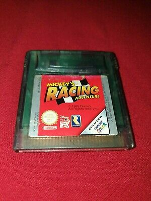 Gameboy Color  Mickey's Racing Adventure Game Only
