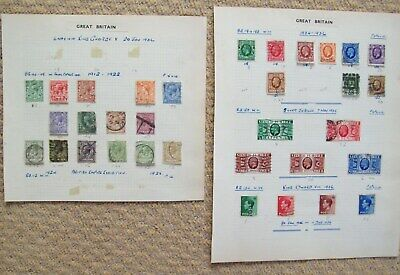 George V Definitives,