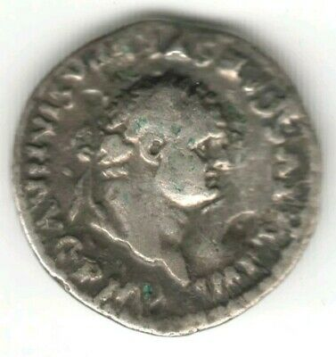 Roman Empire Silver Denarius Coin - Titus AD 79 - Ancient & Very Rare