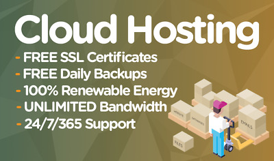 Unlimited Website / Web Hosting For 1 Year, 100% SSD, Support Included!