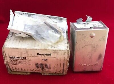 Honeywell 24V 60HZ 6W Damper Control with Direct Drive Coupling M847D1012