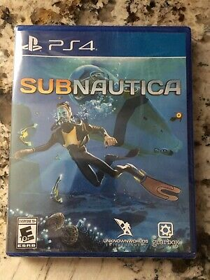 SUBNAUTICA Playstation 4 PS4 Brand New Factory Sealed Sub Nautica Sony