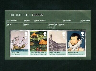 GB 2009 Kings & Queens (2nd issue) Miniature sheet SG MS2930 MNH / UMM