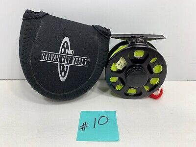 Cabela's Watershed 1 Fly Fishing Reel with Sharkskin WF-4-F Line and Case, NEW!