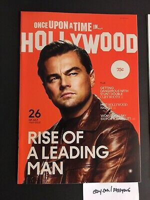 Once Upon A Time In Hollywood Quentin Tarantino Film Premiere Magazine PROMO