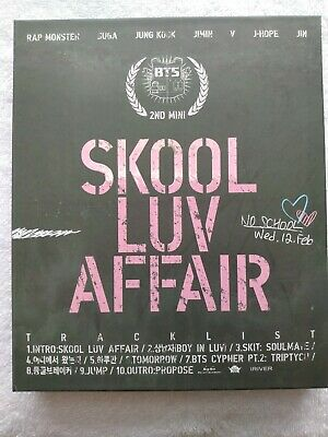 BTS Skool Luv Affair cd+ photo book+ photocard+sticker excellent condition