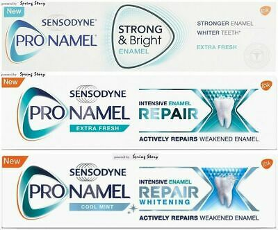 Sensodyne ProNamel Strong Bright Intensive Enamel Repair Whitening Toothpaste