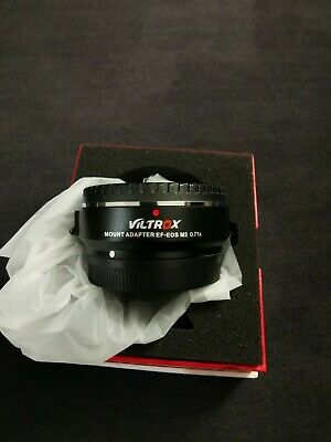 Viltrox EF-EOS M2 0.71x Lens Mount Adapter for Canon EF-Mount to EF-M Mount