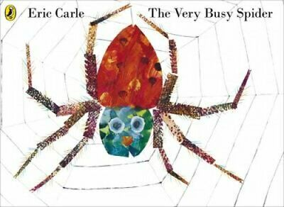 The Very Busy Spider by Eric Carle 9780141338323 | Brand New | Free UK Shipping