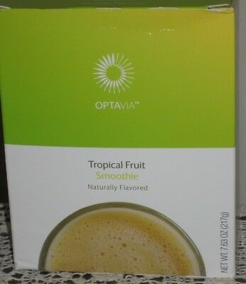 ❤️ Medifast Optavia Tropical Fruit Smoothie ~ Yum!  6 Loose Packets  9/7/19 ❤️